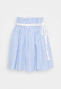 Mossman - THE CRYSTAL SEA SKIRT - A-line skirt - blue/white - 3