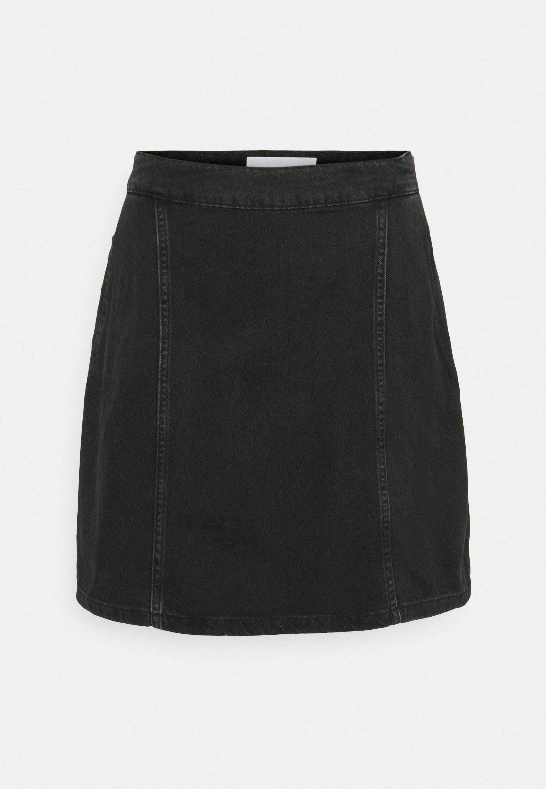 Women NMPERI SKIRT - Denim skirt