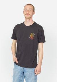 Roark - HOBO - Print T-shirt - black - 0