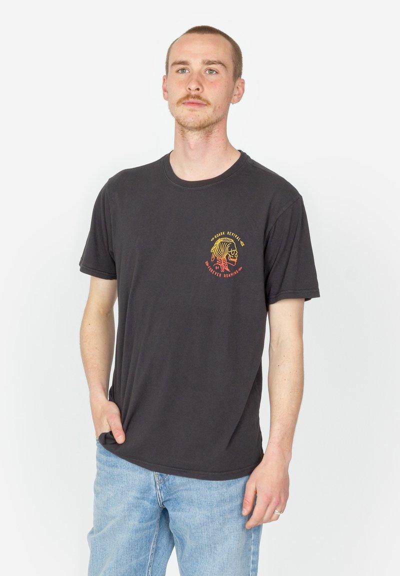Roark - HOBO - Print T-shirt - black