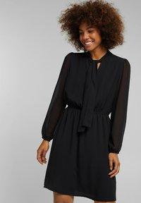 Esprit - FASHION - Day dress - black - 0