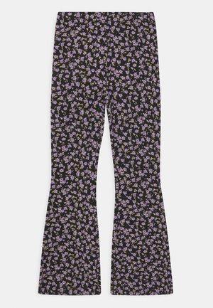 CARMEN FLARES - Trousers - black