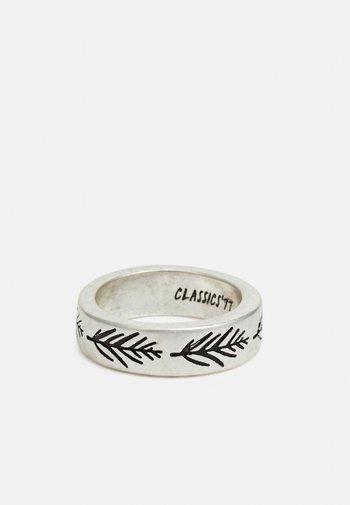 MOUNTAINOUS LEAF BAND - Ringar - silver-coloured