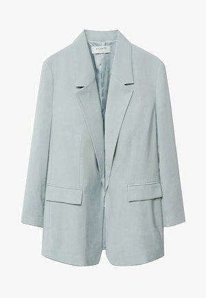 Short coat - azul celeste