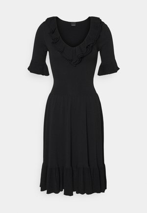 DRIBBLING ABITO - Jumper dress - black