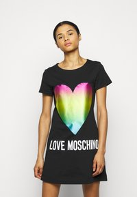 Love Moschino - Jersey dress - black - 0