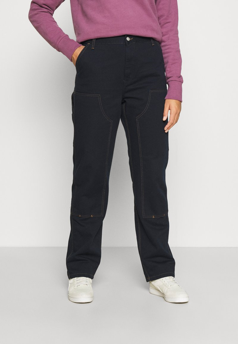 Carhartt WIP - MIGGY DOUBLE KNEE PANT - Džíny Relaxed Fit - astro