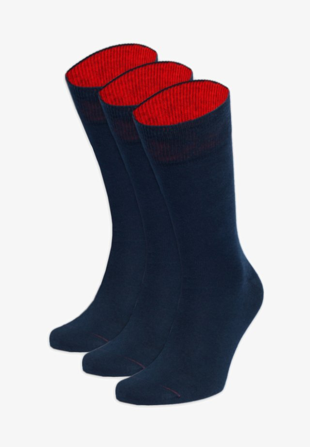 KRAFTPAKET - Socks - blau,rot