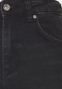 Gina Tricot - NEELA - Straight leg jeans - offblack - 2