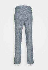 Jack & Jones PREMIUM - JPRRAY CHECK TROUSER - Trousers - grey melange - 8