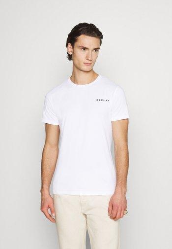 TEE - Basic T-shirt - white