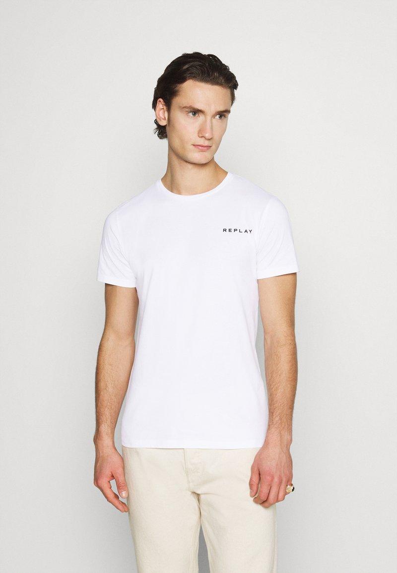 Replay - TEE - Basic T-shirt - white