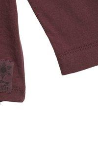 Wheat - Long sleeved top - purple - 2