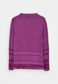 CECILIE copenhagen - Top sdlouhým rukávem - plum/violet - 1