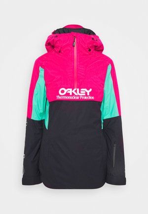 WOMENS INSULATED - Snowboardjacke - black/rubine