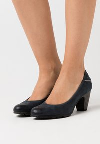 s.Oliver - COURT SHOE - Escarpins - navy - 0