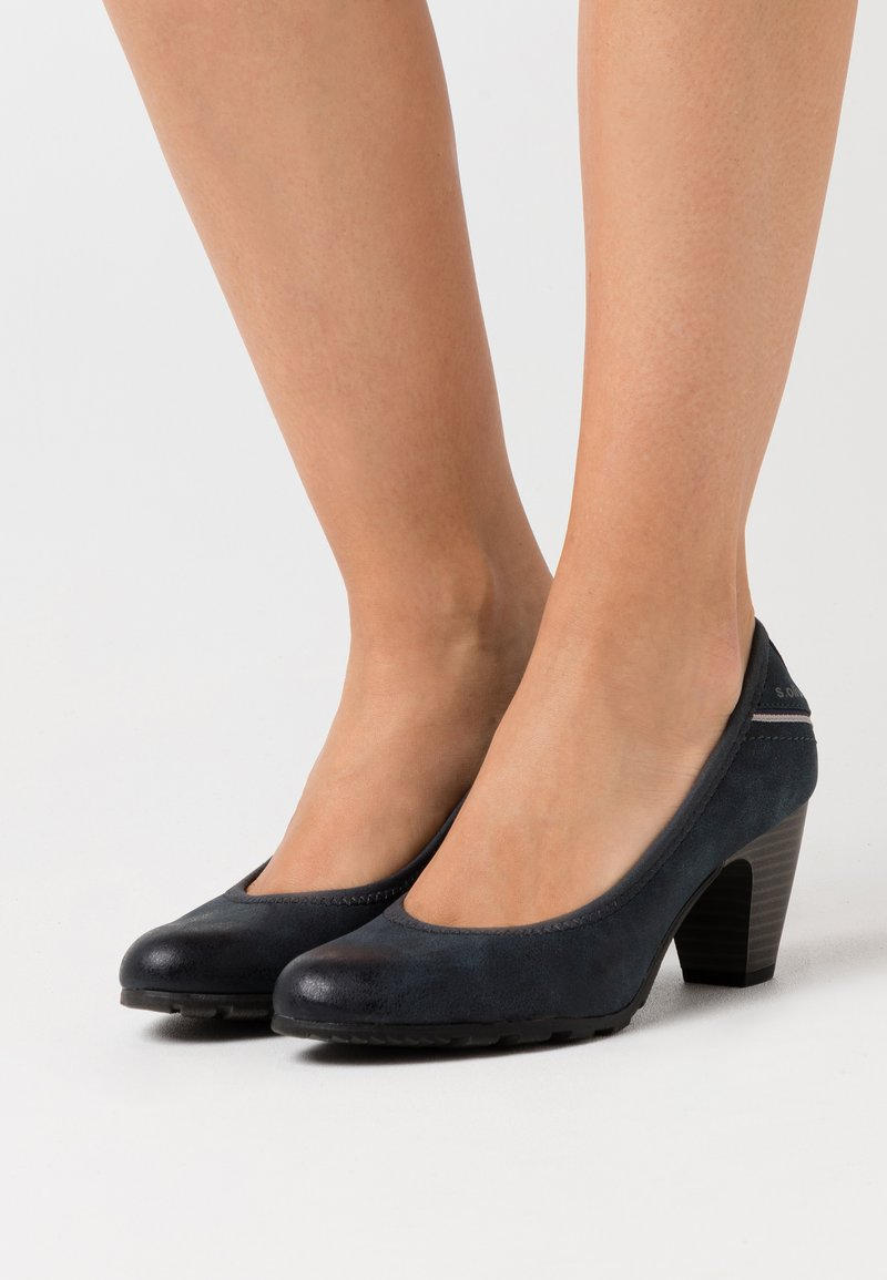 s.Oliver - COURT SHOE - Escarpins - navy
