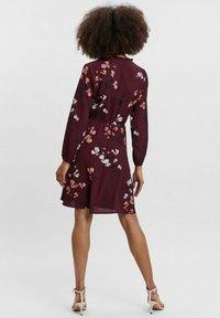Vero Moda - COURTES - Day dress - bordeaux - 2