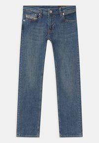 Diesel - WAYKEE UNISEX - Straight leg jeans - blue denim - 0