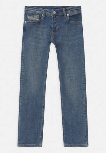 WAYKEE UNISEX - Straight leg jeans - blue denim