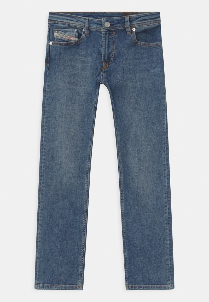 Diesel - WAYKEE UNISEX - Straight leg jeans - blue denim
