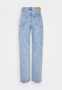 Monki - KYO - Jeans straight leg - blue medium dusty - 6