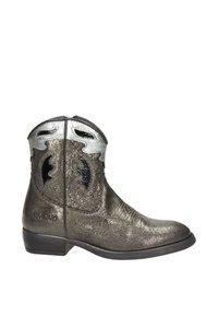 Vingino - Cowboy-/Bikerlaarsjes - zilver - 5