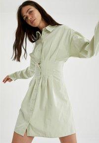 DeFacto - Shirt dress - turquoise - 2