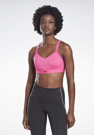 REEBOK HERO MEDIUM-IMPACT STRAPPY BRA - Sport BH - pink