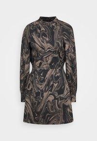 Bruuns Bazaar - ZAZZE DRESS ALINE - Denní šaty - marbell - 4
