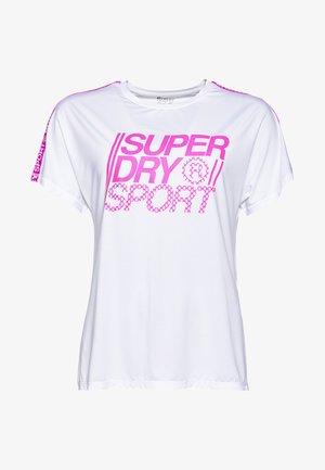 CORE - T-shirt med print - white