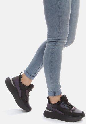 Sneakers basse - black / green