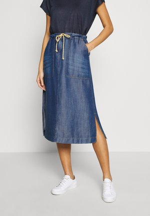 A-line skirt - denim daze