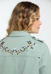 DreiMaster - Denim jacket - neo mint - 4