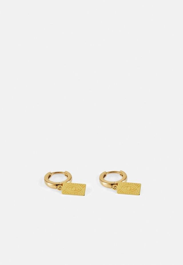 DELIAN SLIP ON EARRINGS - Boucles d'oreilles - gold-coloured