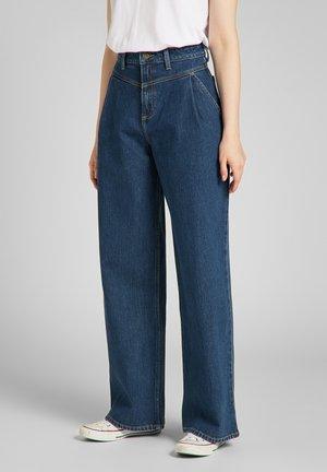 STELLA LINE YOKE - Relaxed fit jeans - blue denim