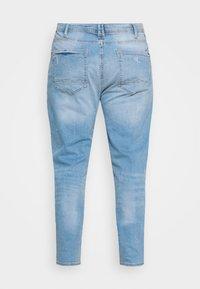 Blend - JET FIT SCRATCHES - Slim fit jeans - denim light blue - 1