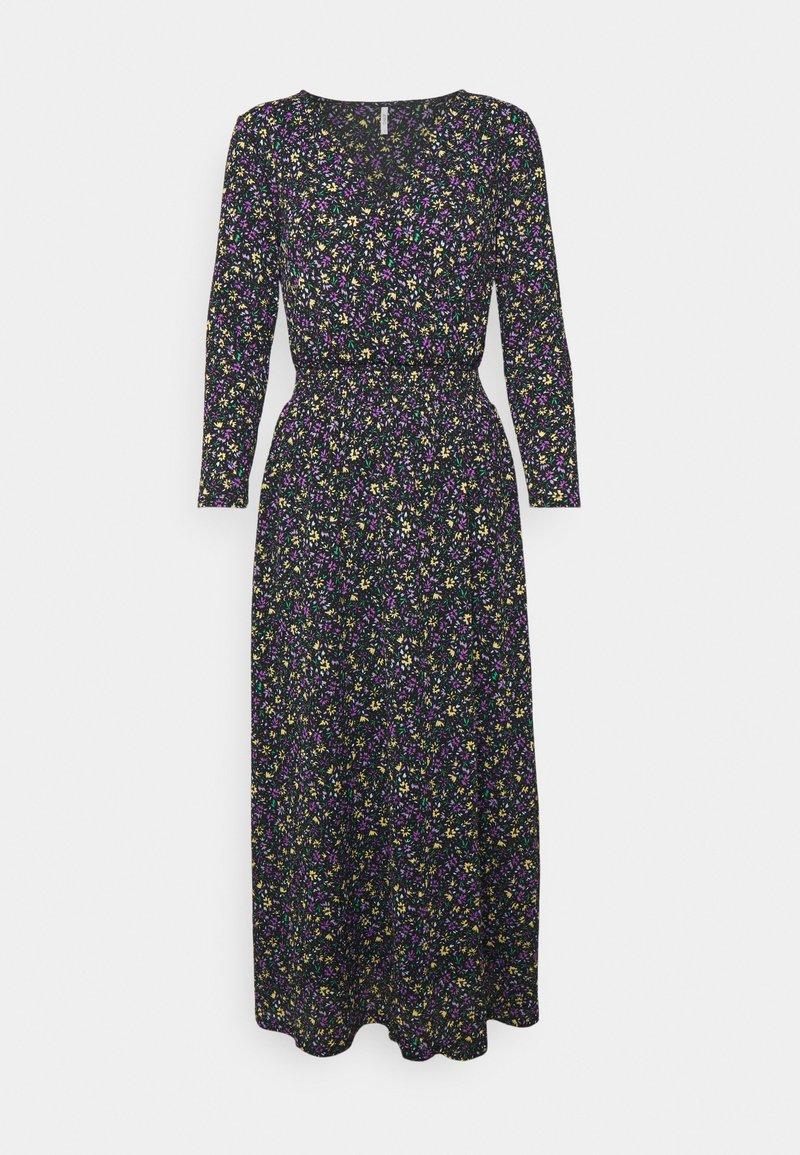 ONLY Tall - ONLPELLA 3/4 DRESS TALL - Denní šaty - black/lovely