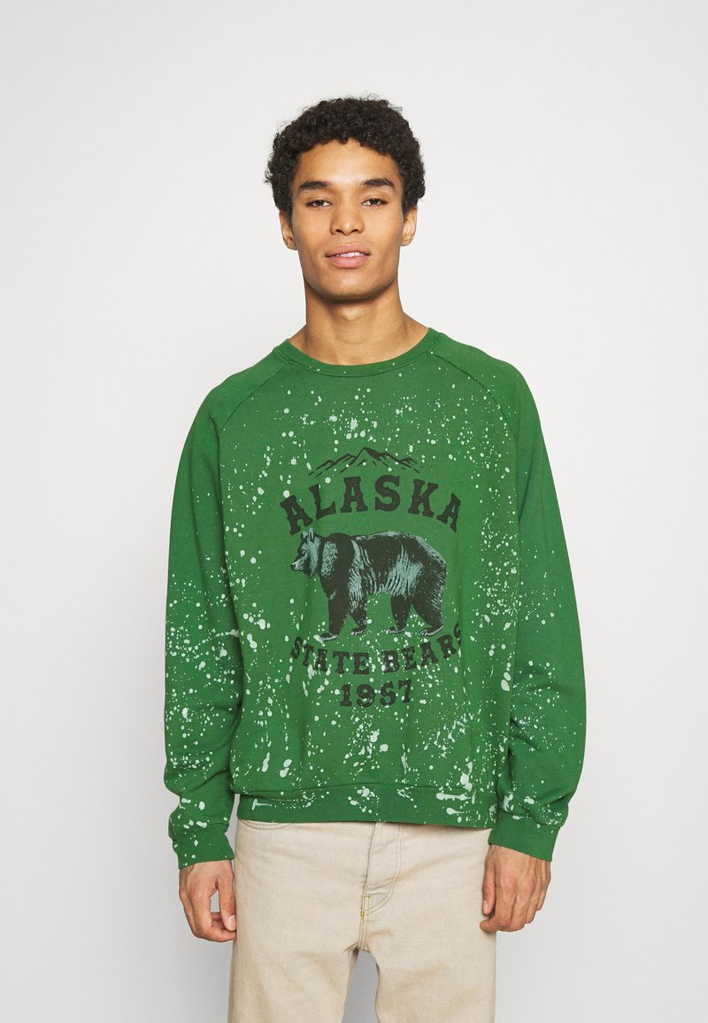 Jaded London - ALASKA STATE BEARS CREWNECK  - Sweatshirt - green