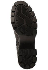 Steve Madden - Platform ankle boots - black snake 967 - 4