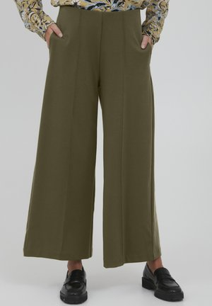 KATE - Trousers - ivy green