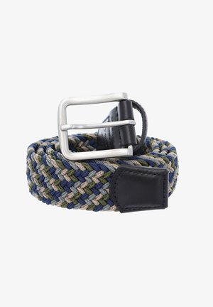 A DAY AT THE SEASIDE - Braided belt - blue green