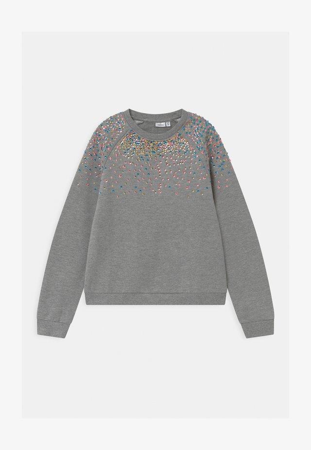 NKFNAIMMA - Sweatshirt - grey melange