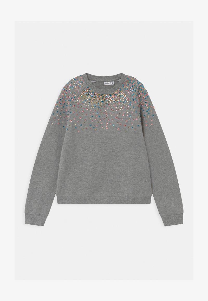 Name it - NKFNAIMMA - Sweater - grey melange