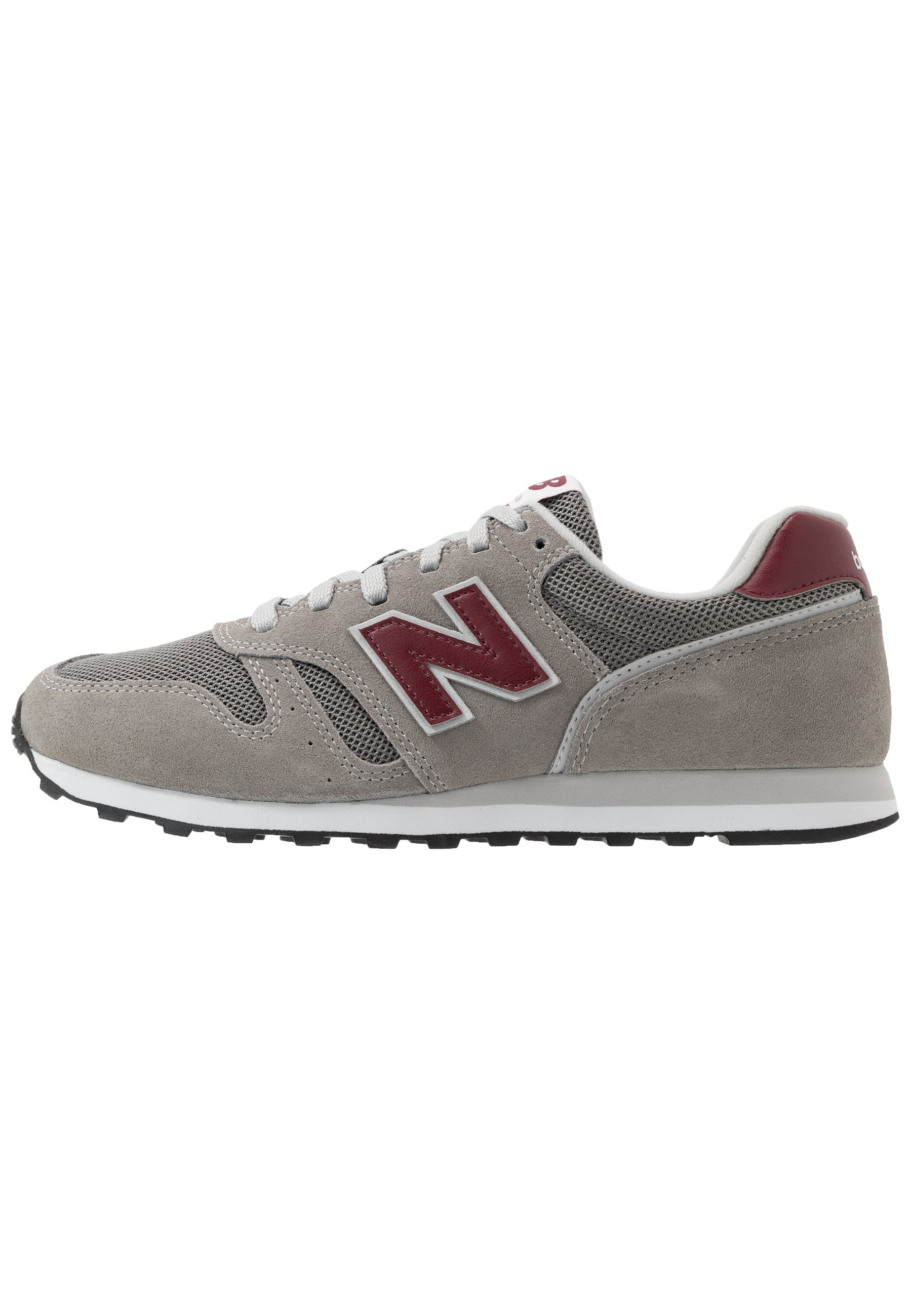 373 - Baskets basses - grey/red