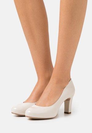 NUMIS - Classic heels - ivory