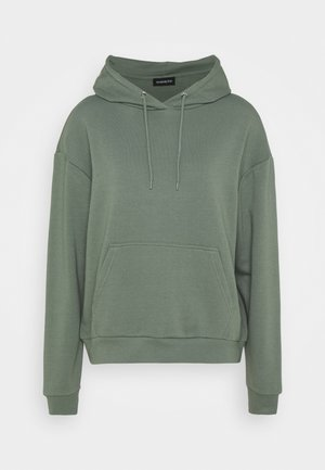 BASIC - Oversized hoodie with pocket - Huppari - green