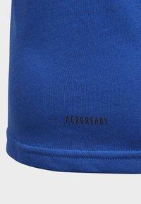 adidas Performance - COTTON T-SHIRT - Print T-shirt - blue - 6