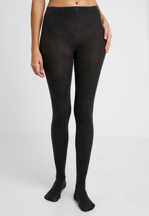 TIGHT 2 PACK - Tights - anthracite melange