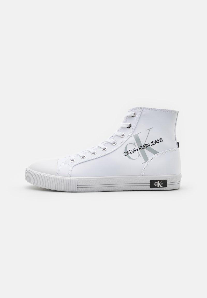 Calvin Klein Jeans - LACEUP - Sneakers alte - bright white